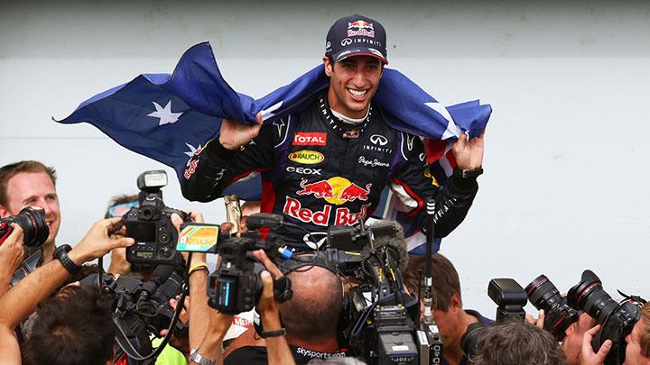 Daniel Ricciardo Canada 2014