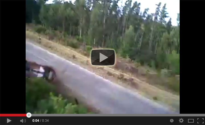 Jaguar F-Type S Crash Simola