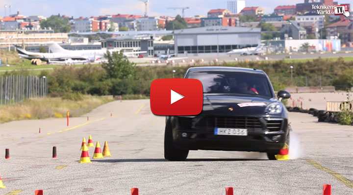 Porsche Macan Moose Test