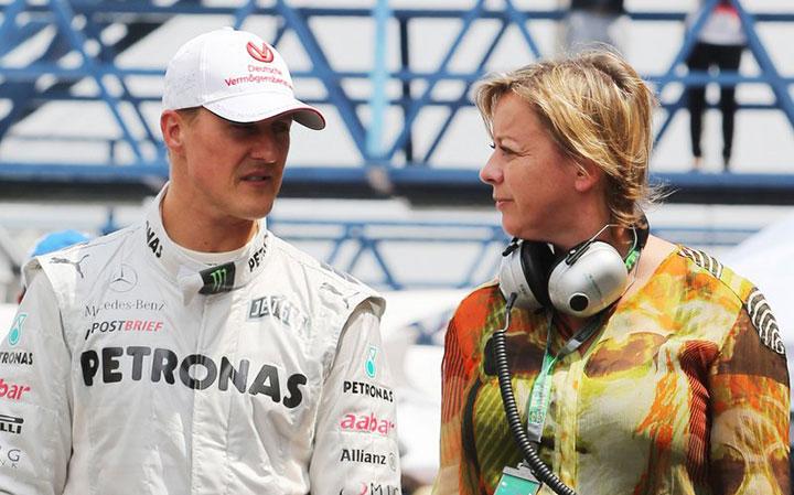 Sabine Kehm Michael Schumacher