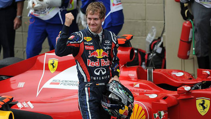 Thumbnail image for Sebastian Vettel to replace Fernando Alonso as Ferrari driver starting with the 2015 season